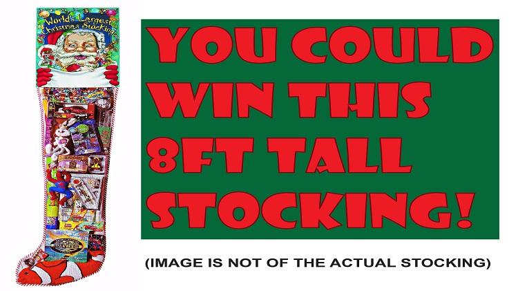 Worlds Largest Christmas Stocking