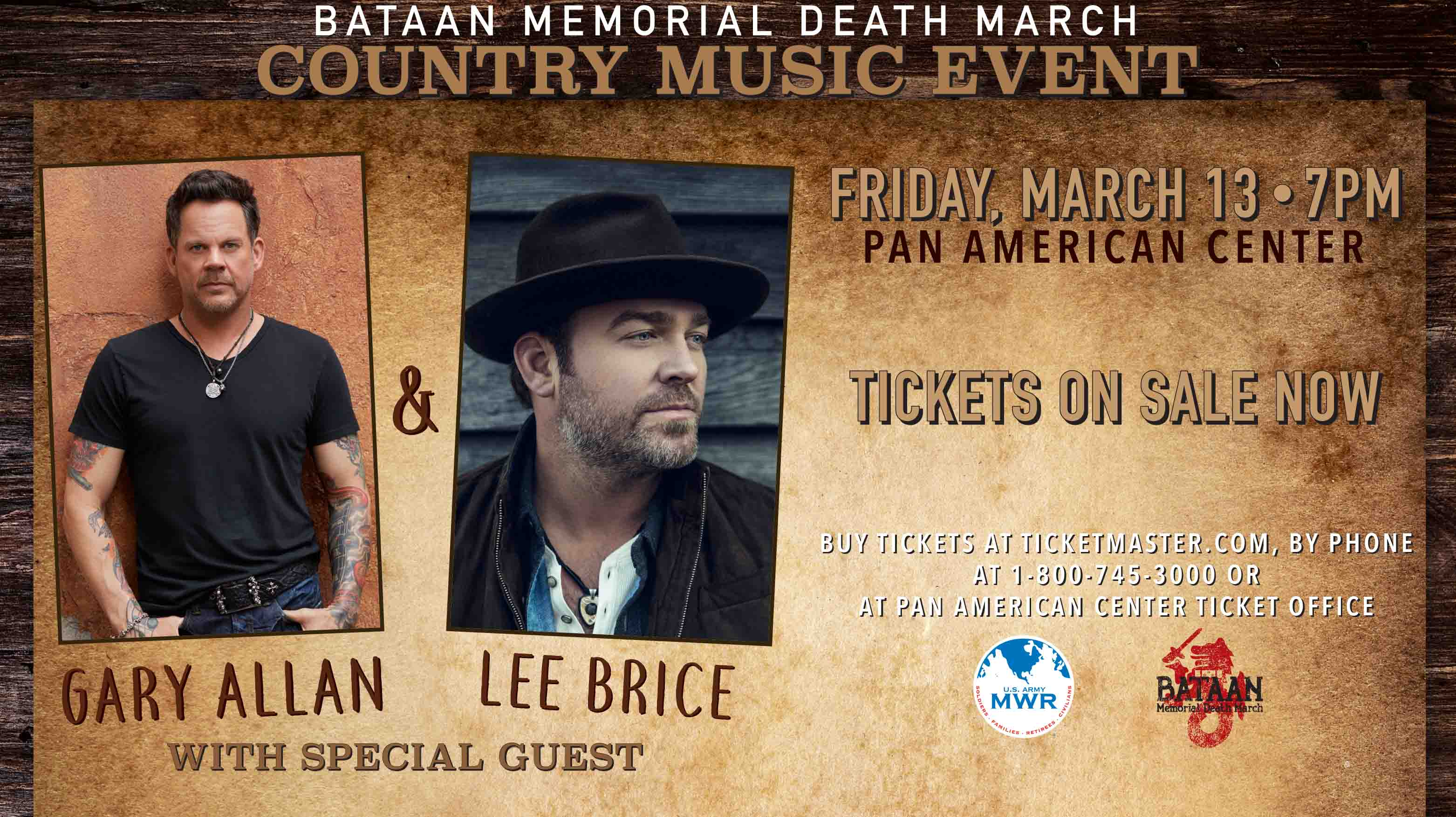 Bataan Memorial Death March Country Concert