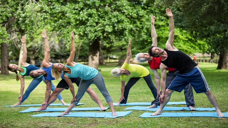Bell Gym's Social Distancing Events of July- Hot Yoga